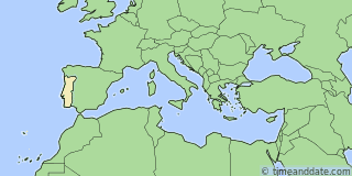 Location of Lisbon