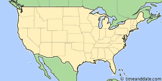 Location of San Diego