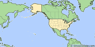 Location of Denali
