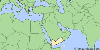 Location of Al Hudaydah