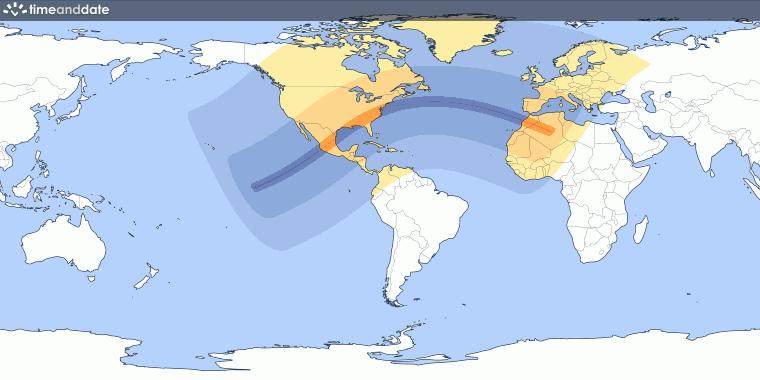 Annular Solar Eclipse on May 30, 1984