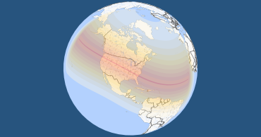 Total Solar Eclipse 2017 World Map.Total Solar Eclipse On August 21 2017 Great American Eclipse