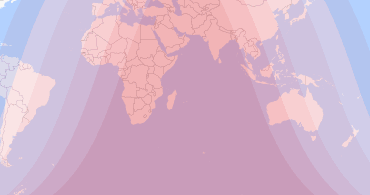 Current Eclipse Map.Solar Lunar Eclipses Worldwide