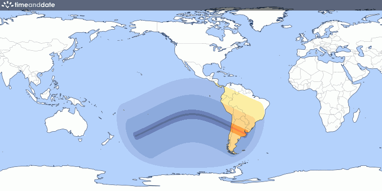 Total Solar Eclipse on July 2, 2019