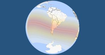 Solar Eclipse 2020 World Map Total Solar Eclipse on December 14, 2020