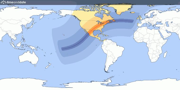 Total Solar Eclipse On April 8 2024