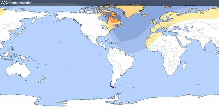 Partial Solar Eclipse on March 29, 2025