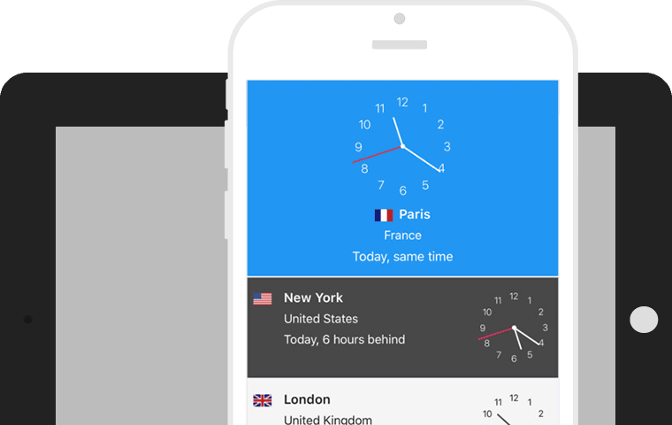 Syncronizes your favorite cities across all your iOS devices using iCloud.