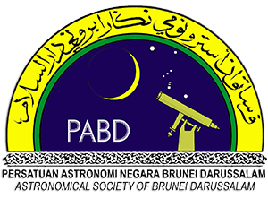 The Astronomical Society of Brunei Darussalam logo