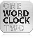 Wordclock icon large